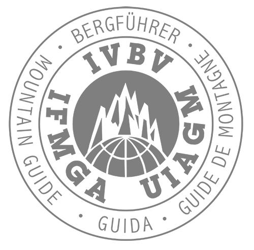 Alpischule Alpinstil Bergführer-Logo