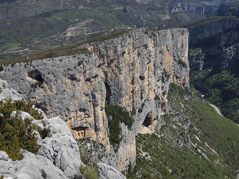 Klettersteig Verdon : Klettern im gorges du verdon alpinschule alpinstil
