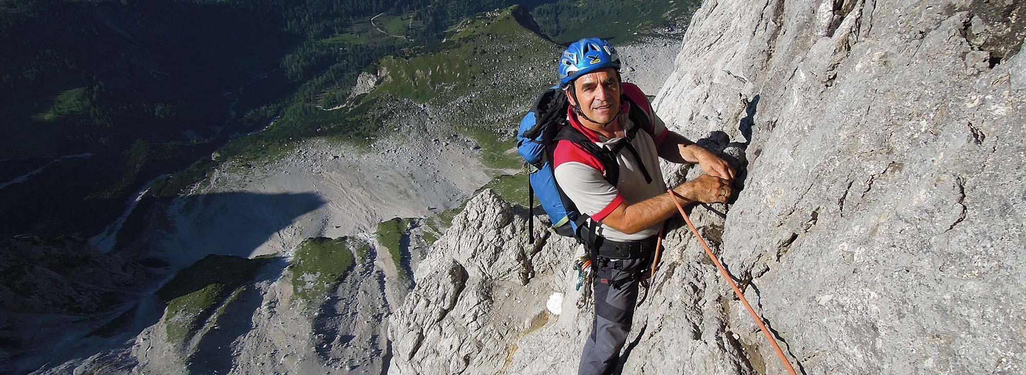 Dachstein Steinerweg mit Bergführer