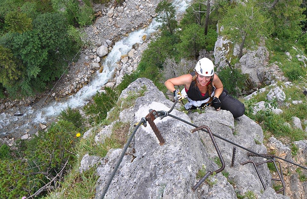 Klettersteigkurs Aufbaumodul