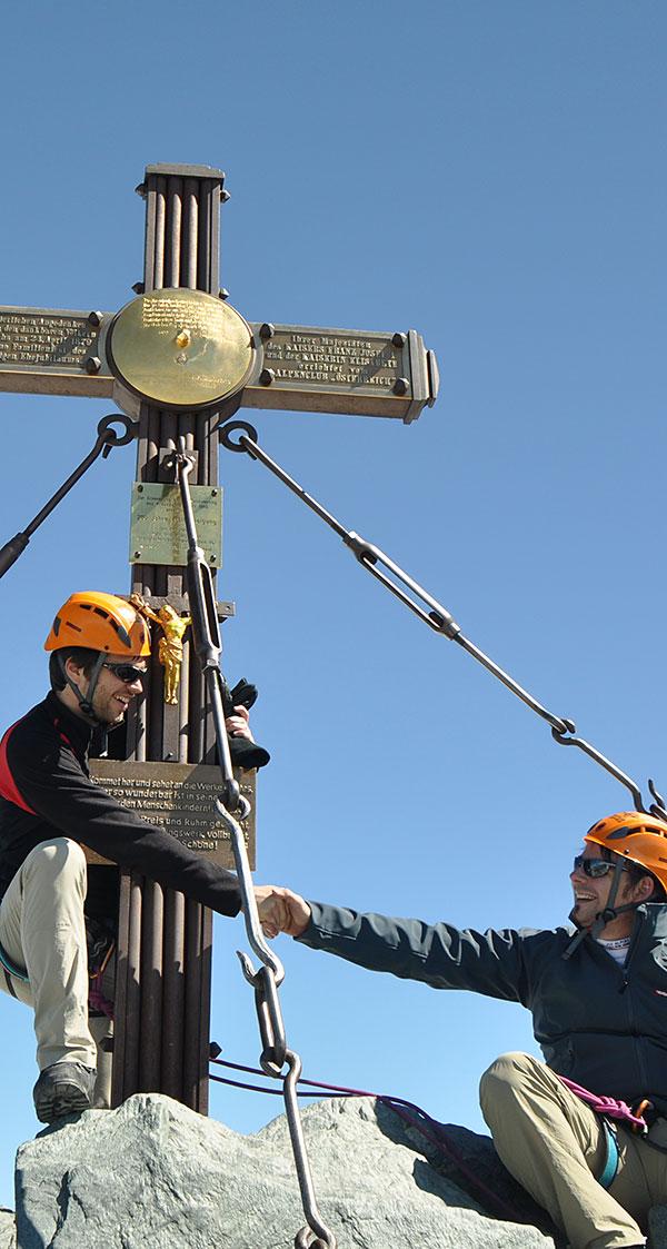 Großglockner Normalweg mit Bergführer