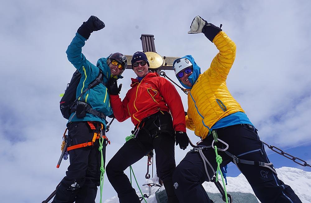 Hoch Tirol mit Bergführer am Großglockner