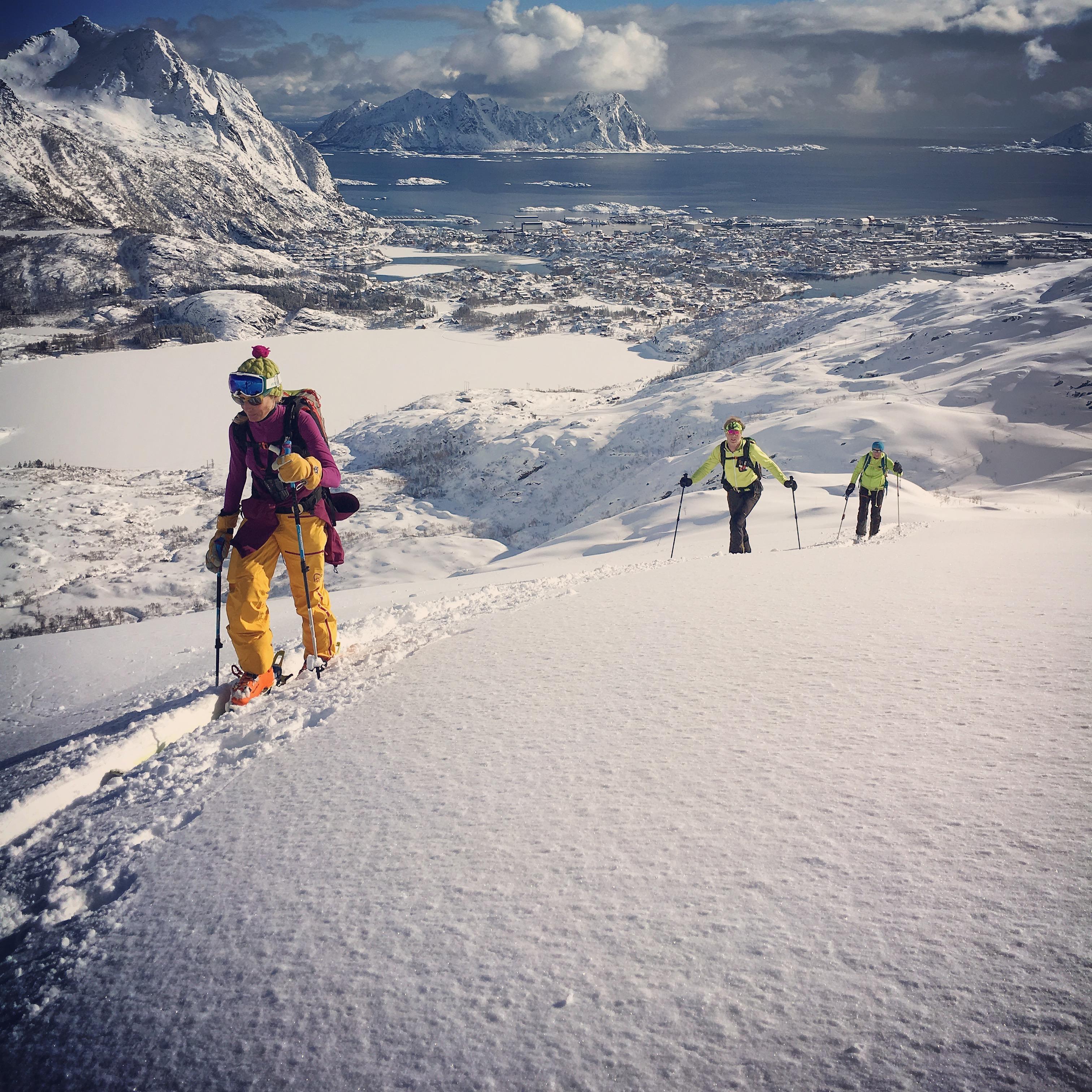 Lofoten-Skitouring