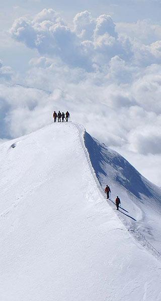 Hochtouren Alpinschule Alpinstil