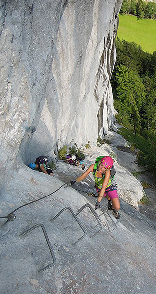 Klettersteige Alpinschule Alpinstil
