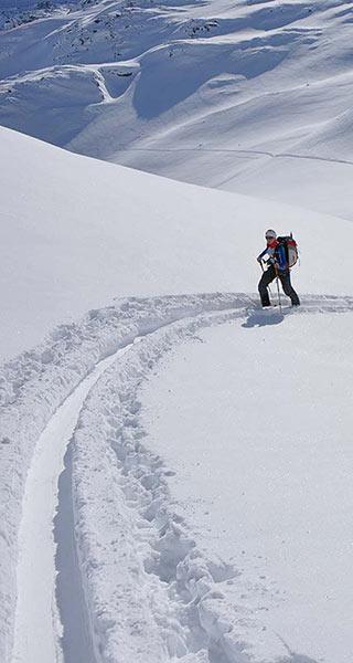 Skihochtouren Alpinschule Alpinstil